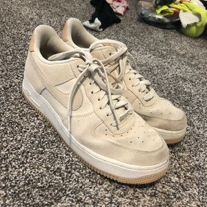Nike air forces size 10.5 runs a little small